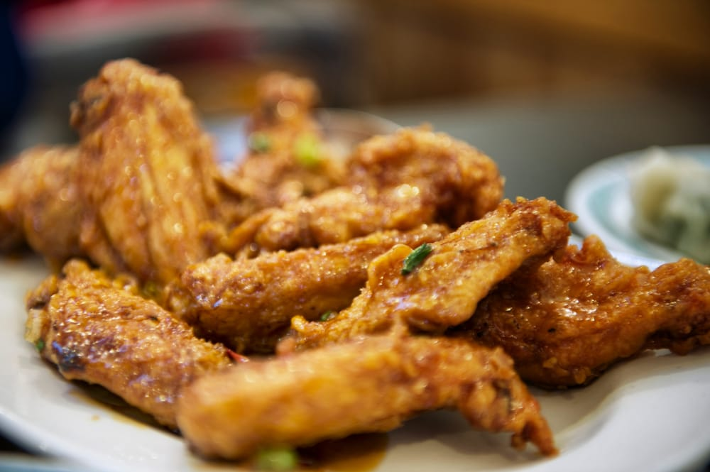 asian chicken wings in san francisco